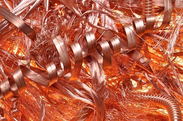 commercio rottami metallici rame