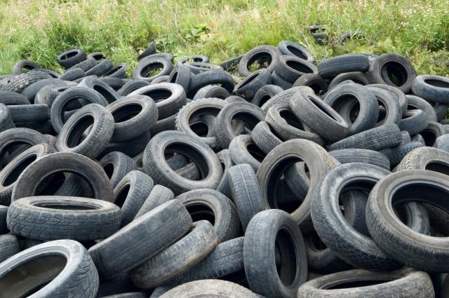raccolta materiali di recupero pneumatici